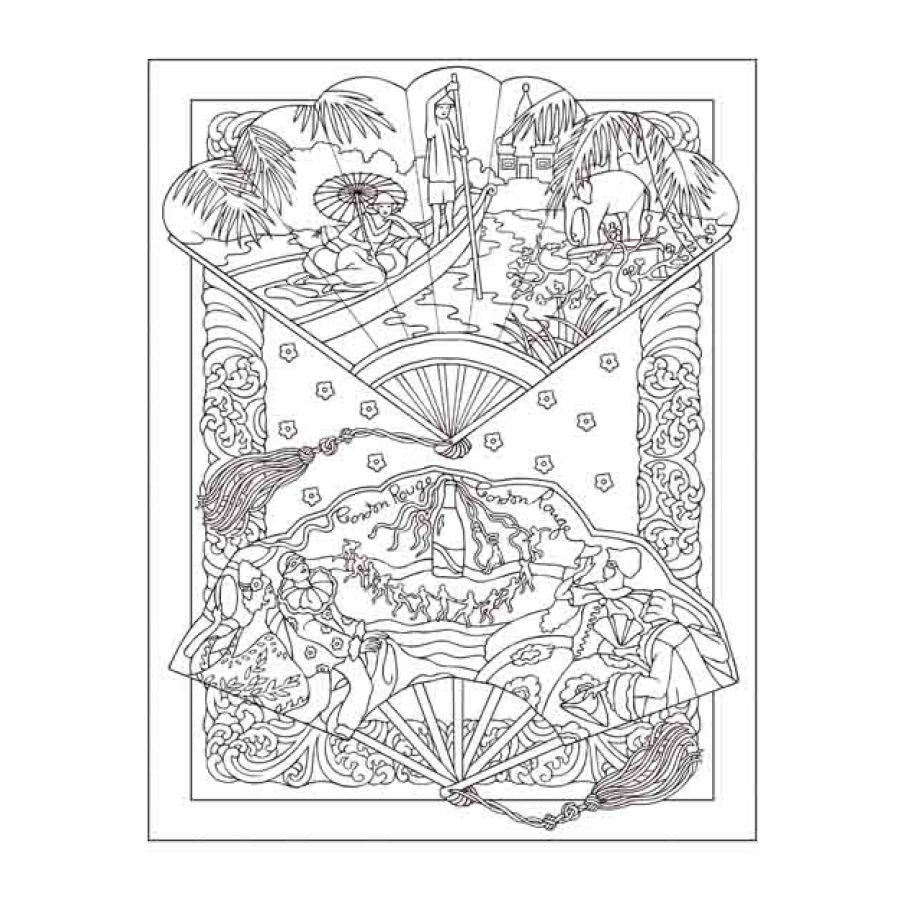 Vintage Hand Funs Antistress Coloring Book For Adults Relieve Stress Art Painting Drawing Graffiti Colouring Book In Books From Office School Supplies On