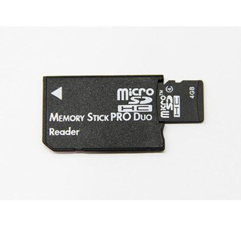 Mini Memory Stick Pro Duo Card Reader New Micro SD TF to MS Card Adapter for PSP Converter #10243