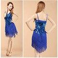 2016 Новые поступления сексуальная бахрома латинский танец dress для девочек дешевые кисточкой латинский танец юбка на продажу 4 цвета