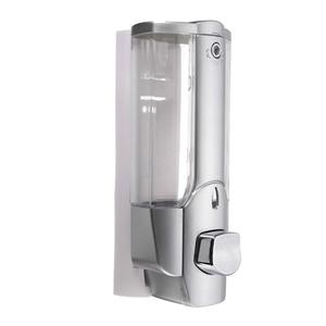 Image 2 - High Wall Mounted Shampoo Soap Dispenser Sanitizer Bathroom Shower Liquid Lotion Pump UEJ