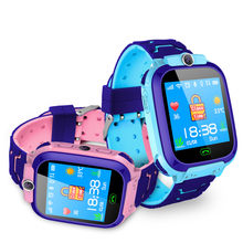 Kids Smart Watch SOS Antil-lost Smartwatch Baby 2G SIM Card Clock Call Location Tracker Smartwatch GPS Fashion New(China)