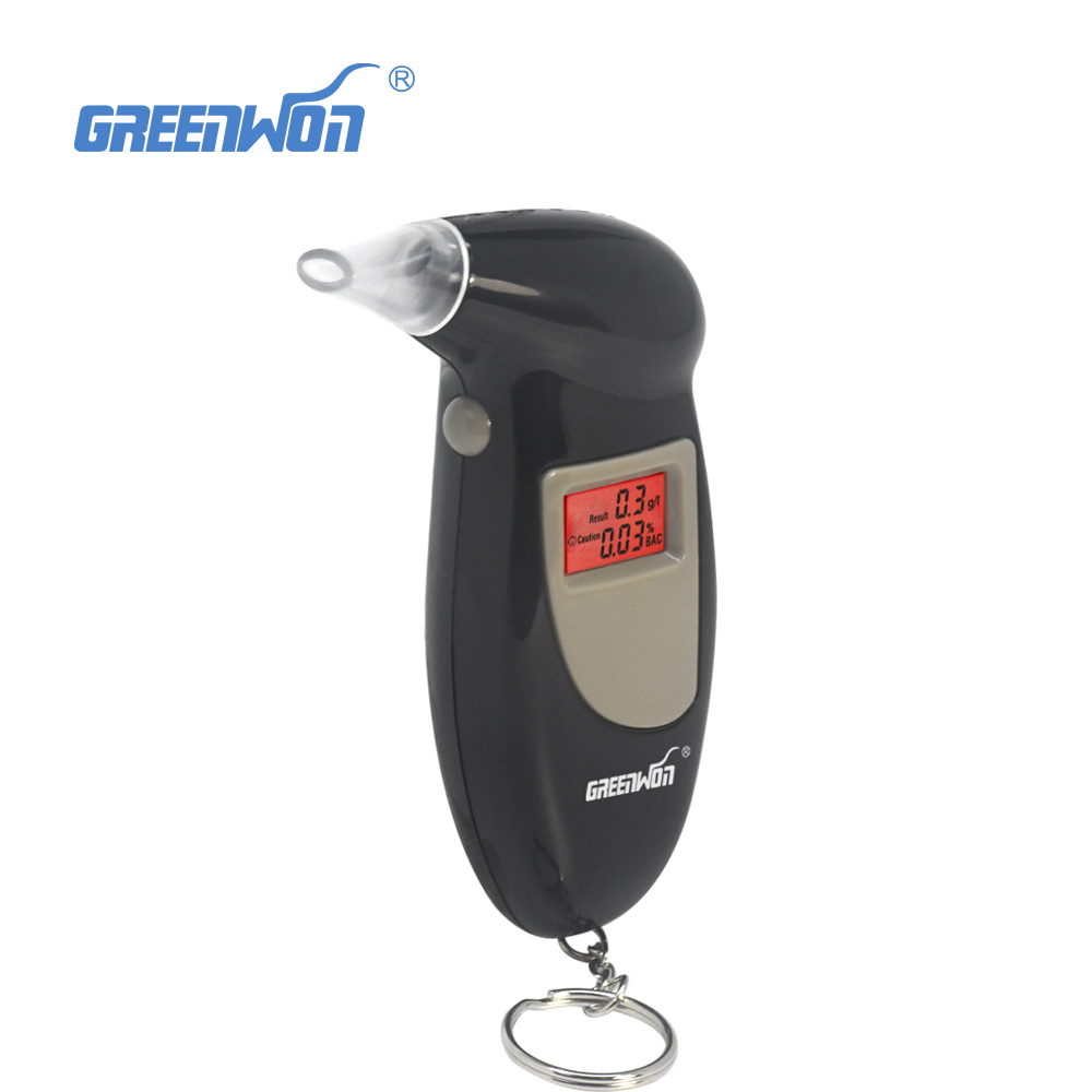2018 Free Shipping, Key Chain Alcohol Tester, Digital Breathalyzer, Alcohol Breath Analyze Tester (0.19% BAC Max) dentyl active alcohol free mouthwash 500ml