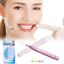 10Pcs/ Set Plastic Interdental Brush Tooth Flossing Head Oral Hygiene Dental Toothpick Healthy for Teeth 0.7 mm to 1.5 mm Y2