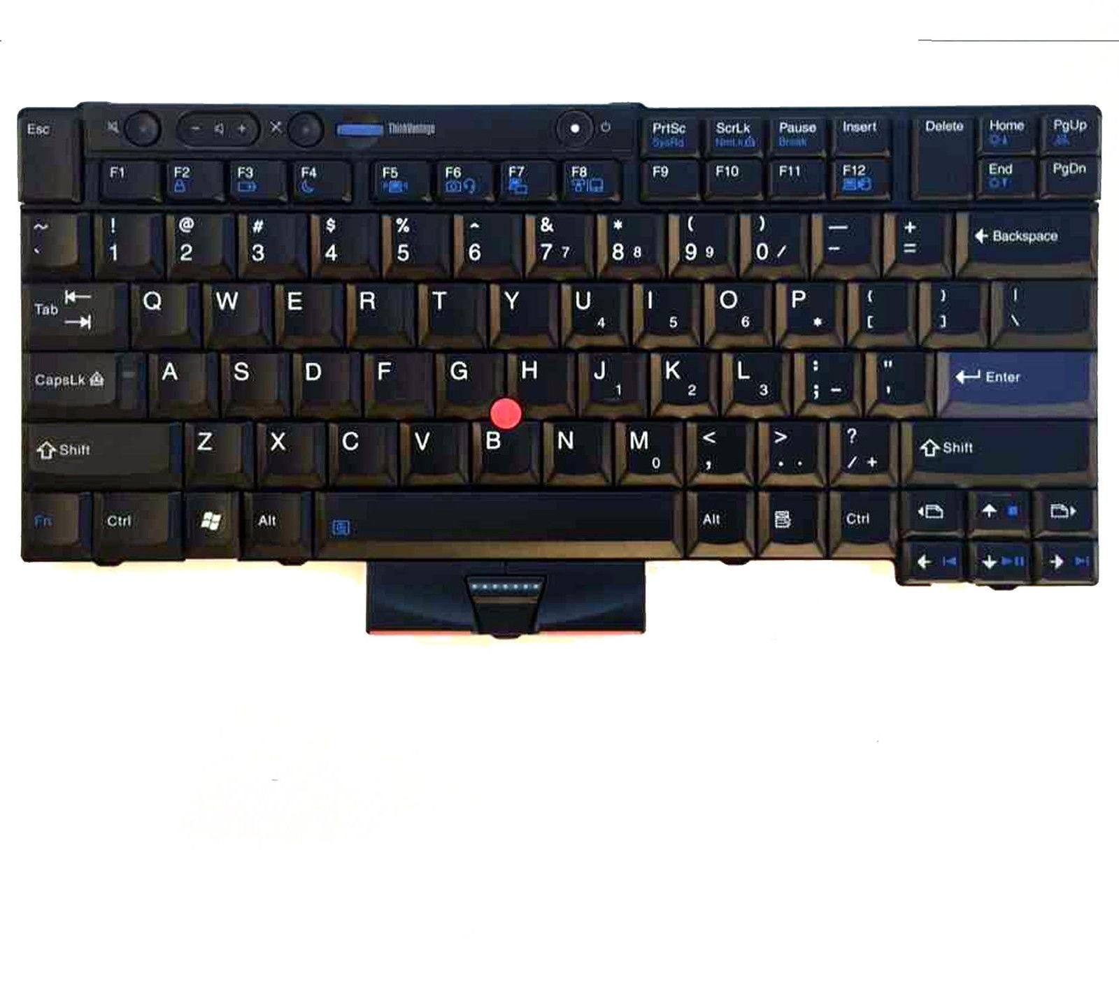 NEW Laptop Keyboard For Lenovo Thinkpad T410 T410I T410SI T420 T420I T420S T510 T510I new laptop keyboard for lenovo thinkpad t410 t420 x220 t510 t510i t520 t520i w510 w520 series laptop keyboard us layout