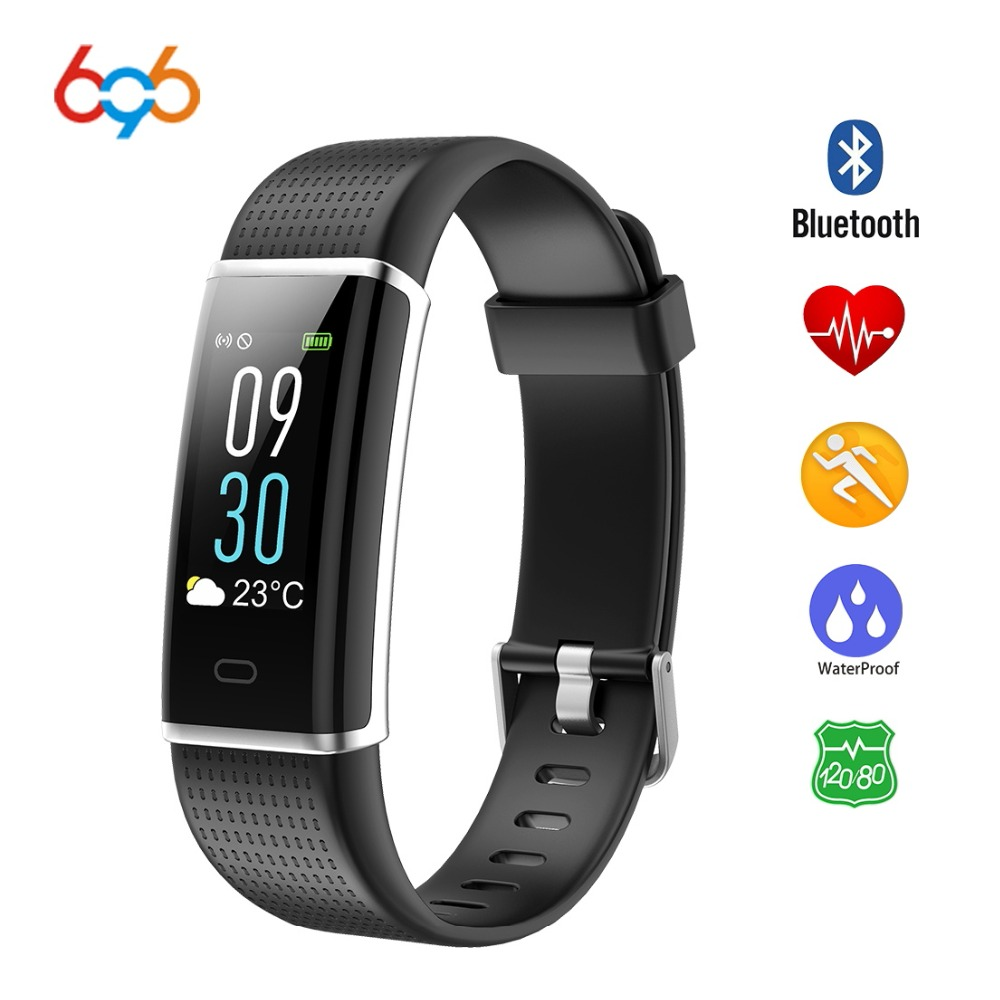 696 ID130 Color Screen Smart wristband Heart rate Women Smart bracelet Fitness tracker Waterproof Smart band For Android & IOS
