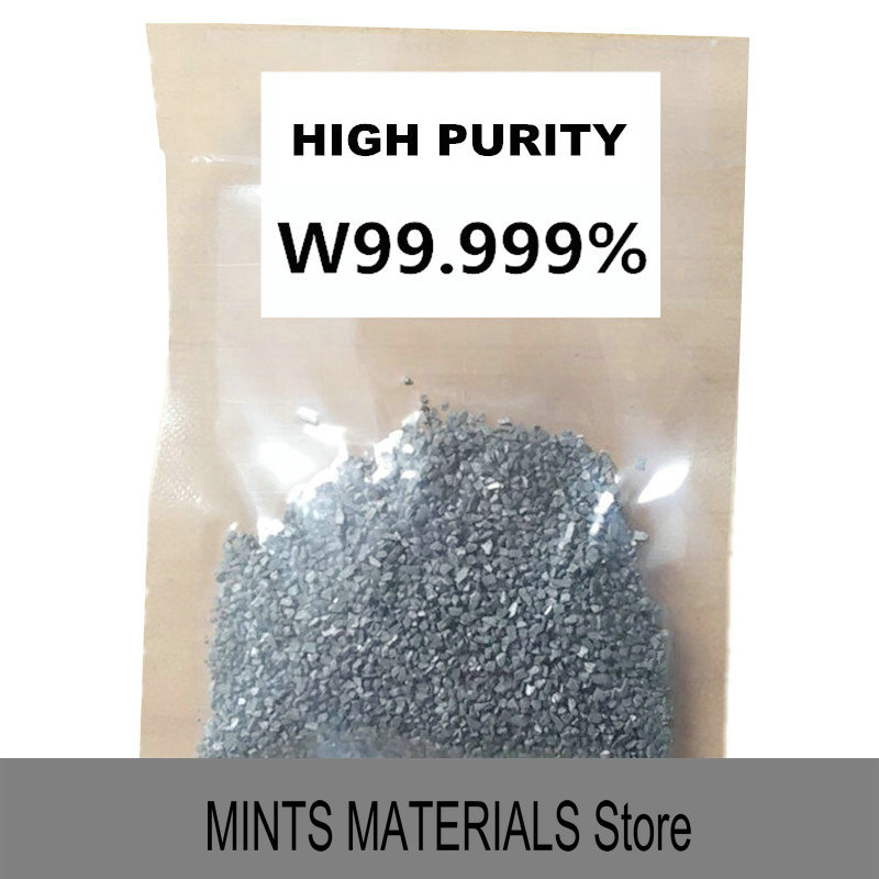 Tungsten 4N W Grain High Purity 99.99% for Research and Development Element Metal Simple Substance Temperature MetalTungsten 4N W Grain High Purity 99.99% for Research and Development Element Metal Simple Substance Temperature Metal