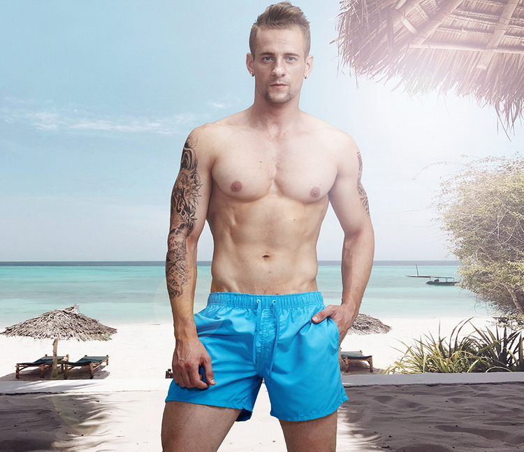 Aimpact Quick Dry Board Shorts for Men Summer Casual Active Sexy BeachSurf Swimi Shorts Man Athlete Gymi Home Hybird Trunks PF55 4