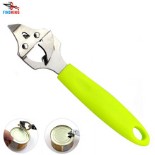 FINDKING Brand High  quality can opener green ABS handle with Stainless Steel multifunction opener bottle opener beer opener