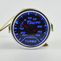 52mm  Car Turbo Boost Gauge Psi / Vacuum Meter Turbo Boost Pressure Gauge 52mm Auto Gauge Meter Smoke Vacuum Gauge