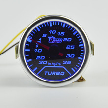 52mm Car Turbo Boost Gauge Psi Vacuum Meter Turbo Boost Pressure Gauge 52mm Auto Gauge Meter