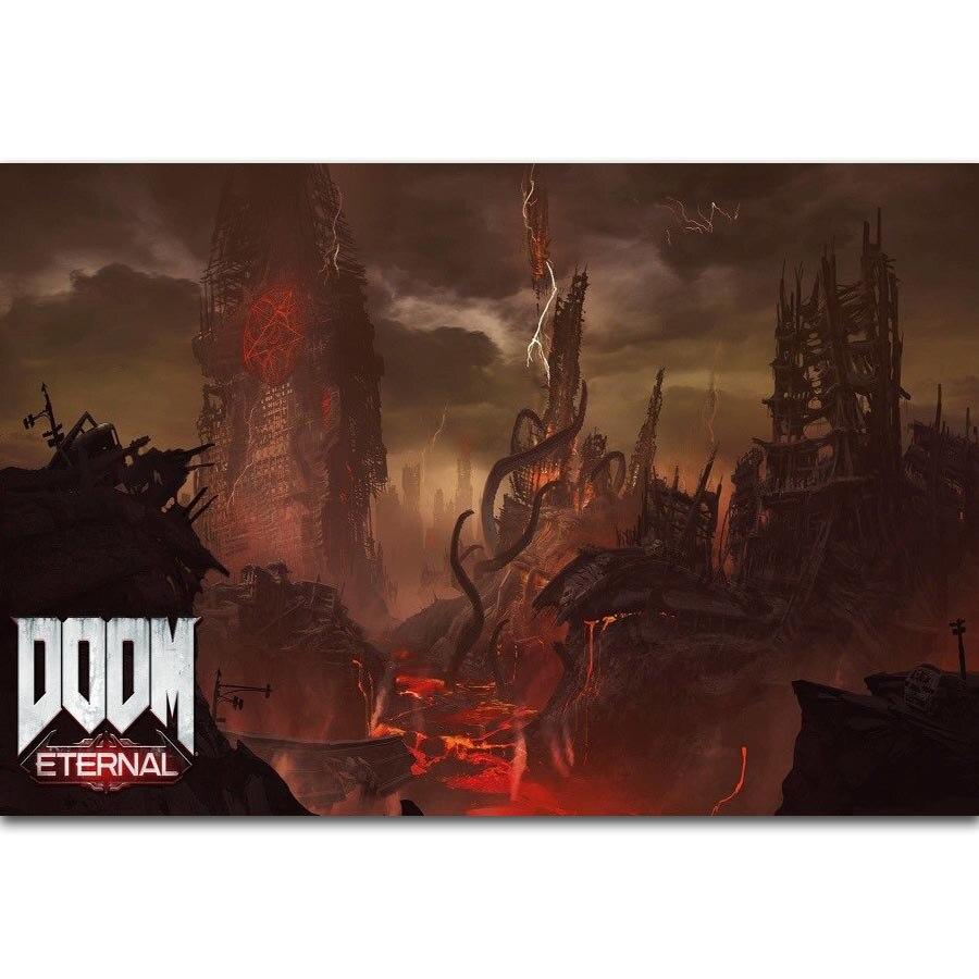 Fx1811 Doom Eternal Hot New 2018 Video Game Cartoon Comic -3793