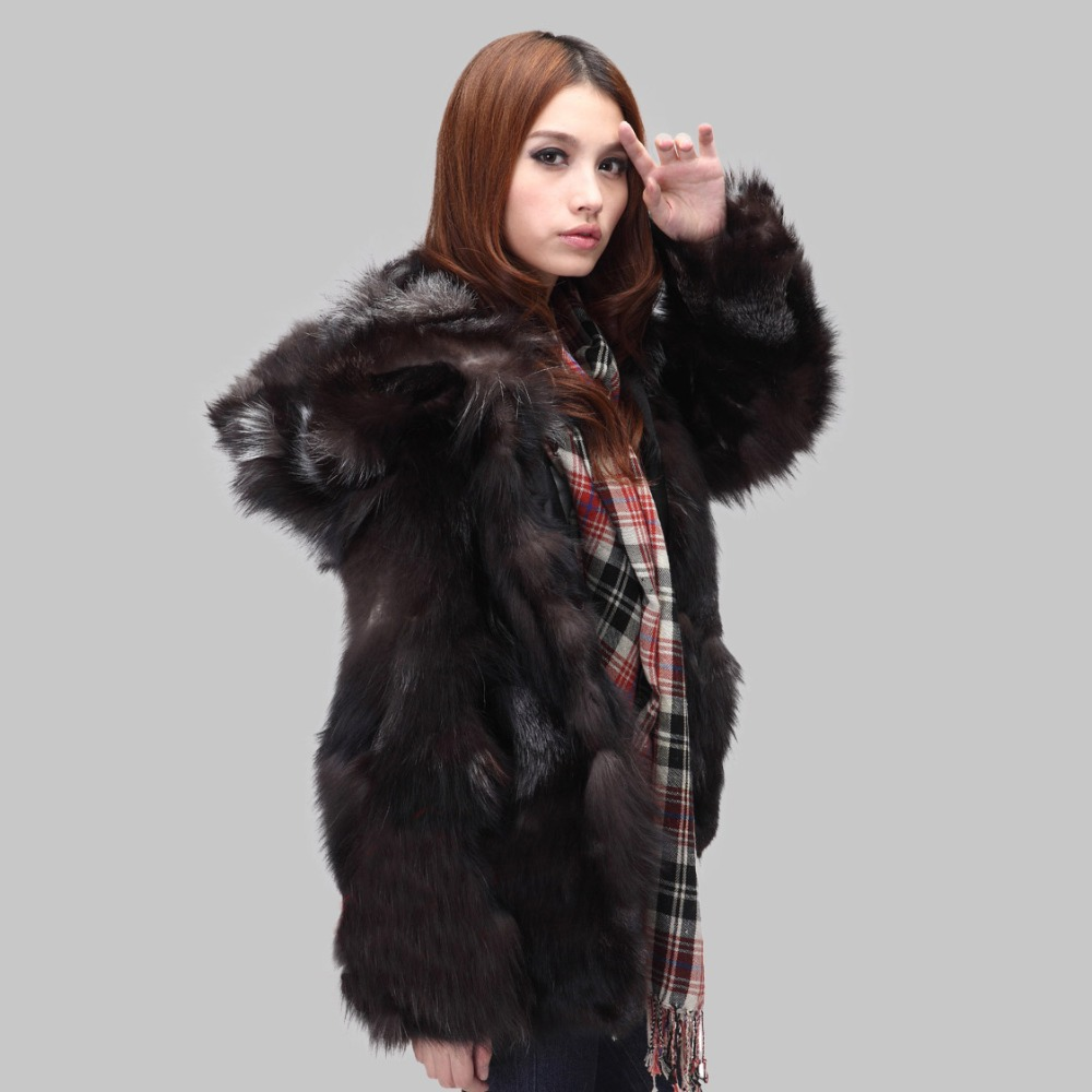 Popular Fox Fur Coat Real-Buy Cheap Fox Fur Coat Real lots from ...