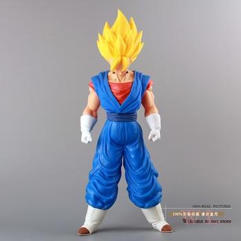 Envío gratis de Dragon Ball Z Super grande Super Saiyan Vegito Vegeta PVC MODELO DE figura de acción de juguete 36CM DBFG045