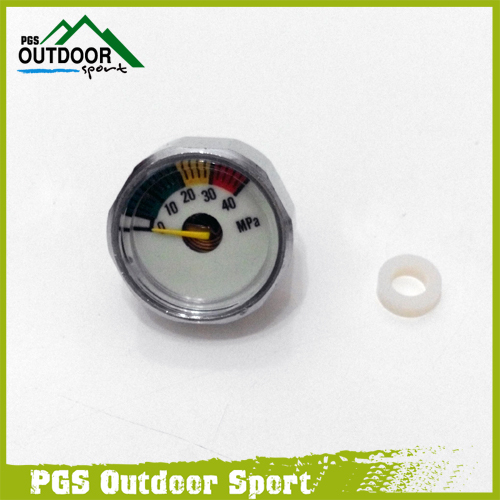 PCP Pressure Gauge 40mpa Luminous Mini Micro Manometre Manometer M10 *1-in Paintball Accessories from Sports & Entertainment