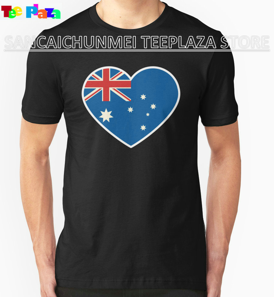 Design your own t-shirt in australia - Teeplaza Joke T Shirts Australia Lover Australia Day Men S New Style O Neck Short Sleeve Tee Shirt