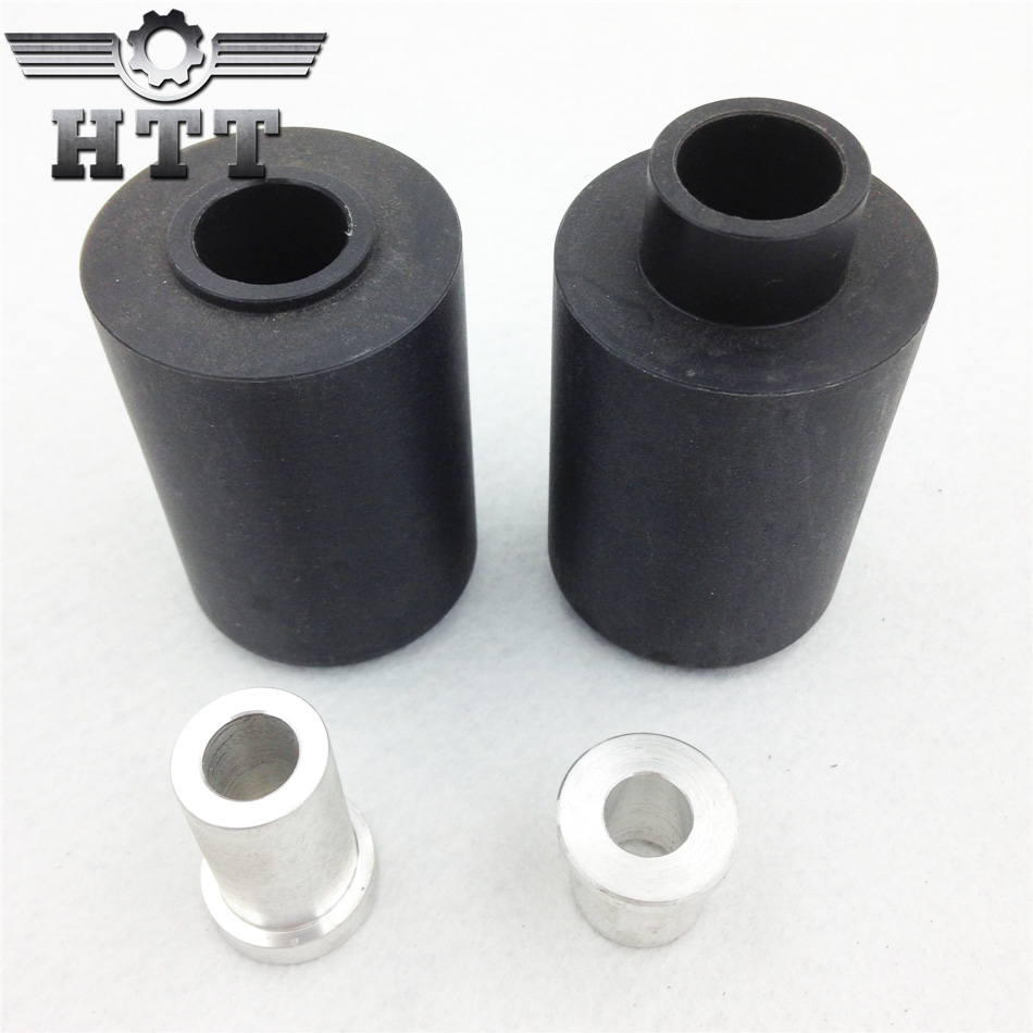 Aftermarket free shipping motorcycle parts No Cut Frame Slider For Hond 2000-2001 CBR 929RR 2002-2003 CBR954RR RR Black