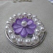Blanco perla agujero recto Del Pelo Accesorios diy perlas de imitación de alta belleza del teléfono de DIY esencial 4mm-20mm 50g