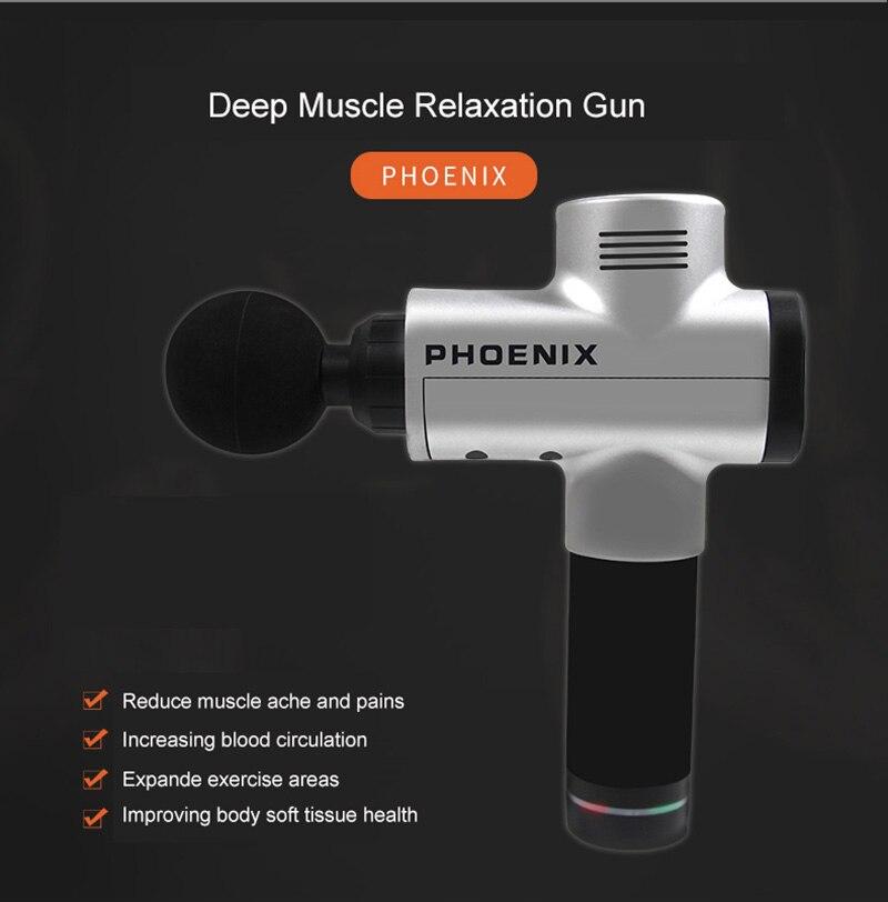 terapia arma de vibração de alta frequência
