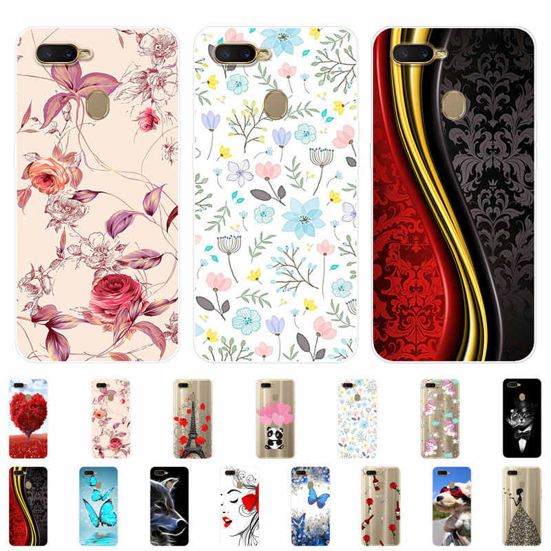 OPPO A5S Case Silicone OPPO AX5S Cover Back Soft TPU Phone Case For OPPO A5S CPH1909 CPH 1909 OPPOA5S OPPOAX5s Case 6.2 inch