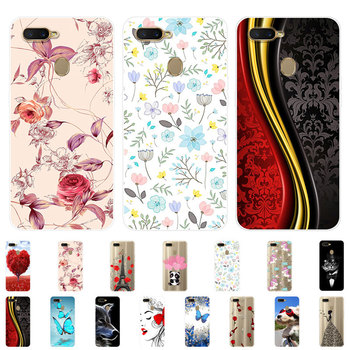 OPPO A5S Case Silicone OPPO AX5S Cover Back Soft TPU Phone Case For OPPO A5S CPH1909 CPH 1909 OPPOA5S OPPOAX5s Case 6.2 inch image