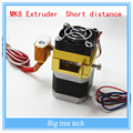 3d сопла принтера Аксессуар Комплект прямого экструдера MK8 короткое расстояние последнее обновление Для MK8 экструдер комплект