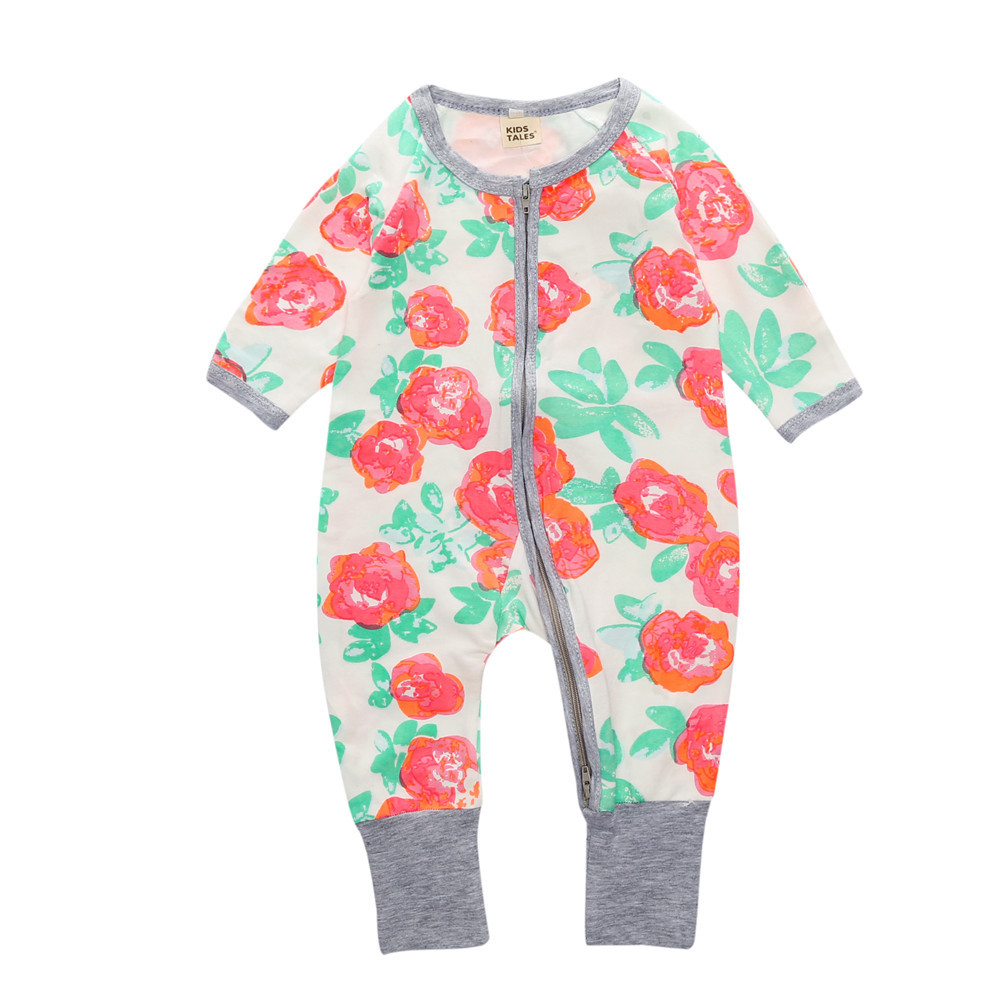Baby Rompers Spring Autumn New Born Baby Clothes Long Sleeve Sleepwear Jumpsuit Baby Boy Girl Romper Clothes Ropa Para BebeBaby Rompers Spring Autumn New Born Baby Clothes Long Sleeve Sleepwear Jumpsuit Baby Boy Girl Romper Clothes Ropa Para Bebe