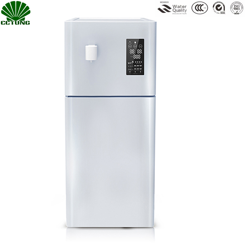 Home 50L/D Pure Atmospheric Air To Water Treatment Dispenser Generator With Intelligent RO Filter NFC Code-Scanning Match Tech
