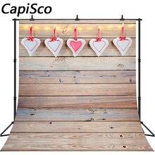 Capisco задний план для фотостудии День святого Валентина фон Photocall Сердце Дерево фоновая наклейка для аквариума фотосессия Backcrops