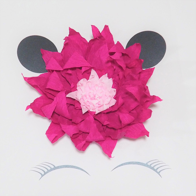 2018 cat giant crepe paper flowers for cute cat theme party birthday 2018 cat giant crepe paper flowers for cute cat theme party birthday dessert table decor baby mightylinksfo