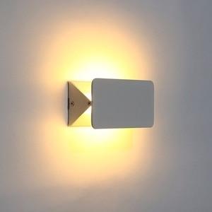 Image 4 - Nowa nowoczesna 5W 10W 16W biała elastyczna regulacja LED kinkiet elastyczna wysoka jasność nocna łazienka kryty oświetlenie ścienne