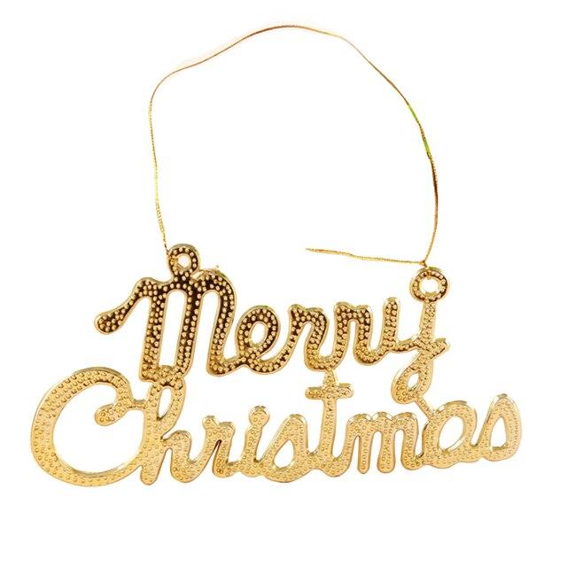 Frohe Weihnachten Gold.Us 0 89 20 Off Gold Frohe Weihnachten Platten Weihnachtsbaum Ornament Weihnachtskranz Aktivitäten Zubehör In Gold Frohe Weihnachten Platten