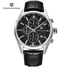 Pagani Design Men's Watches Quartz-watch Men Casual Military Leather Watches Men Wristwatch Sports Watch Clock Reloj Hombre Saat