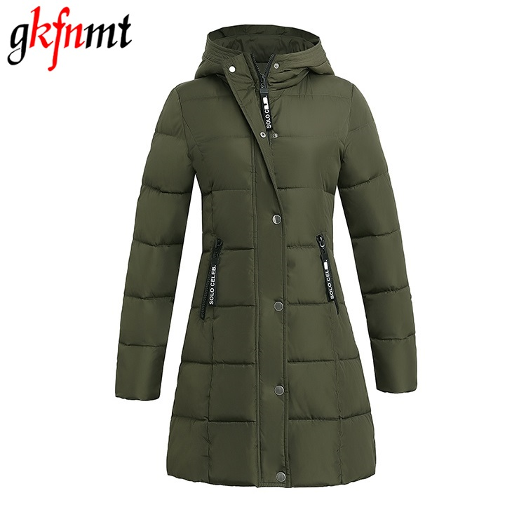 Woman Coat 2017 Autumn Long Winter Jacket Women Thick Cotton Padded Coat Casual Warm Parka winter clothing for women pregnant women of han edition easy to film a word long woman with thick cotton padded clothes coat quilted jacket down jacket