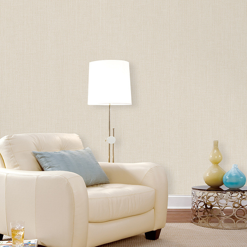 simple background living modern sofa roll stripe plain bedroom papel beibehang rolls fabric wallpapers parede paper