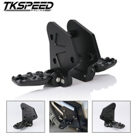 Motorcycle Folding Rear Footrests CNC Aluminum Rear Set Foot Pegs Footrest For HONDA X ADV XADV X ADV 2017 Passengers Pedal