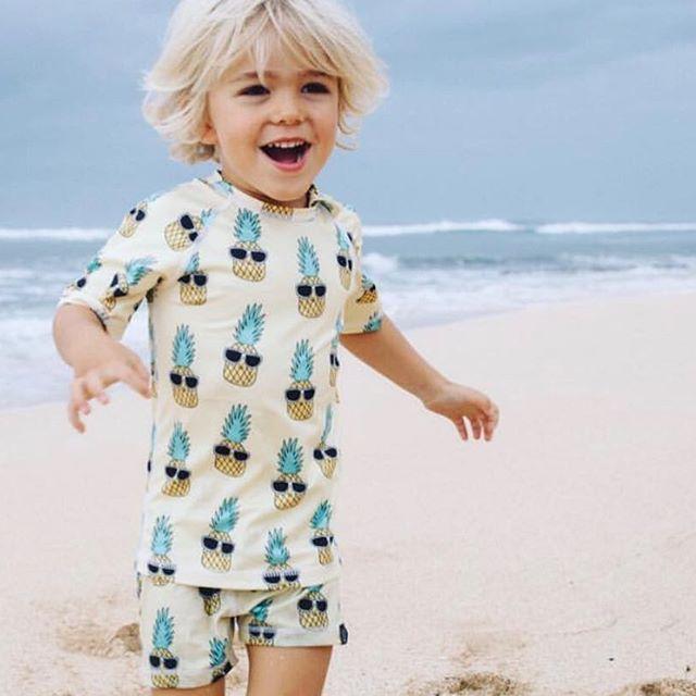 KOREAN KIDS CLOTHING SETS ICE CREAM SWIM SUIT BABY BOY ... Korean Toddler Clothes
