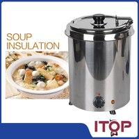 تسليم سريع! المقاوم للصدأ الحساء غلاية ، جودة عالية الحساء أدفأ ، الأواني الحساء ، كهربائي الغذاء الخادم ، المرجل حساء