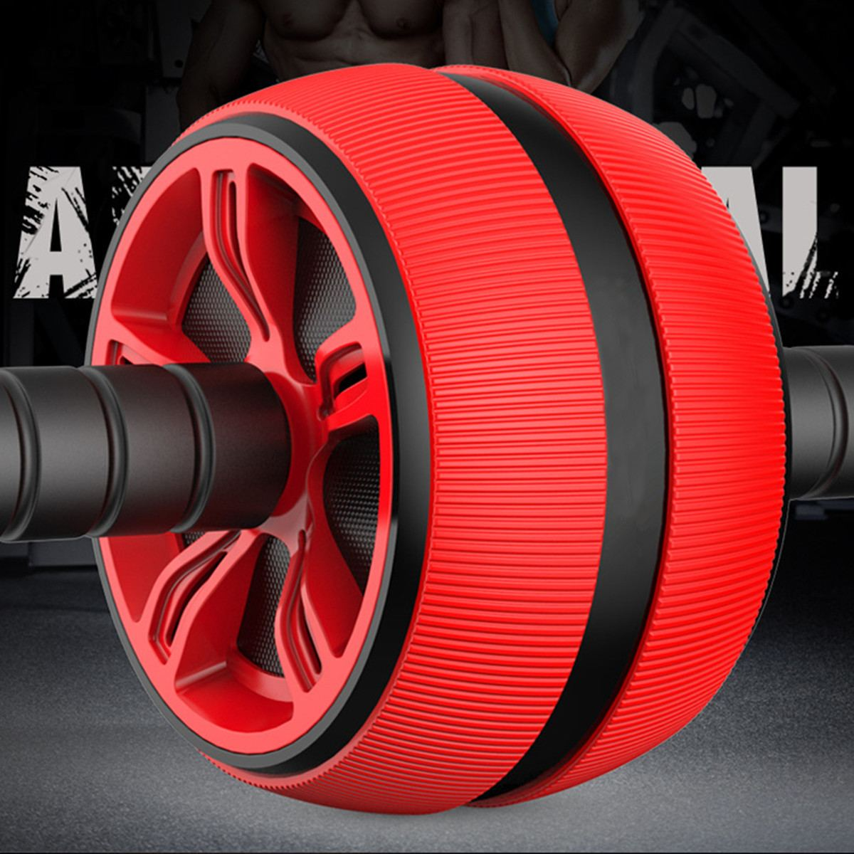 Abs Roller with Strong Bearing Capacity Ideal for burning Extra Calories from Arms Back and Belly 5