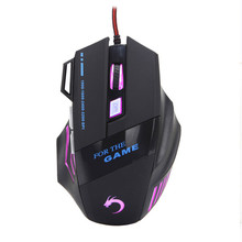 SimpleStone 7 Button 3200 DPI LED Optical USB Wired Gaming Mouse For Laptop Gamer 60315