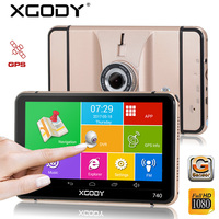Xgody 7 Inch Navigator Android Car Gps 512m 8 Gb Sat Nav Navigation Dvr Video Recorder