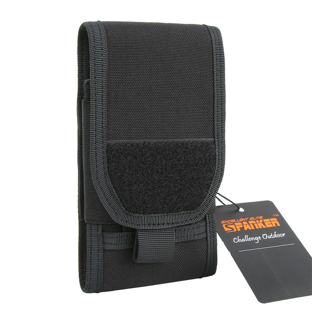 new style 8352c 19e5d US $13.78 5% OFF|EXCELLENT ELITE SPANKER Universal Outdoor Tactical Molle  Phone Pouch Protective Case Wallet Pouch Purse Phone Case for 5.5 Phone-in  ...