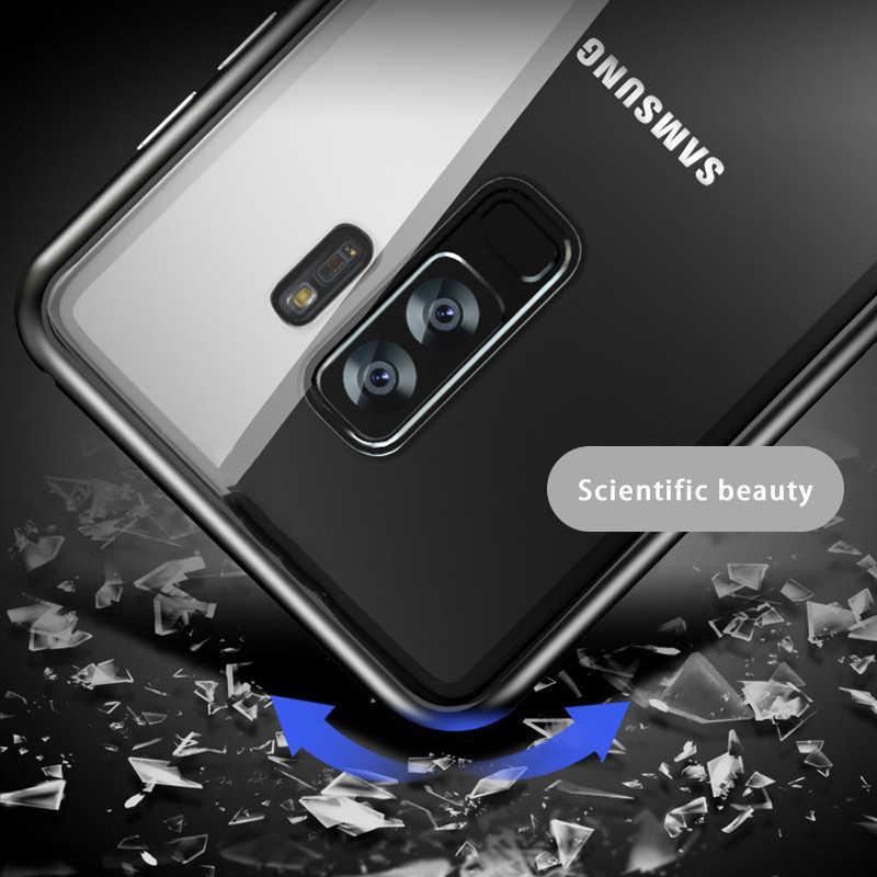 Nam châm Ốp Lưng Ốp Lưng trên Dành Cho Samsung Galaxy Samsung Galaxy S10 S10E S10plus Điện Thoại di động Trường Hợp Cho A20 A30 A50 S8 S9 J4 j6 Plus Note 8 9 A7 A9 M20