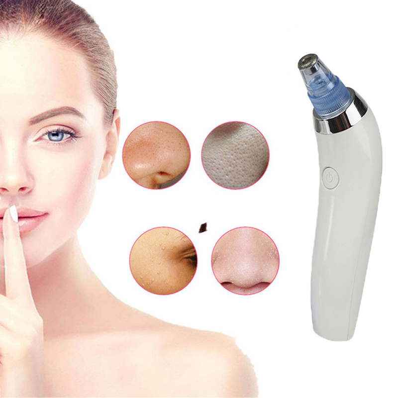 Vacuum Blackhead Remover Facial Vacuum Pore Cleaner Nose Acne Comedo Suction Spot Cleaner Face Skin Care Beauty Electric Device 1pcs vacuum blackhead remover facial pimple acne pore cleaner nose acne comedo suction spot cleanser skin care beauty device