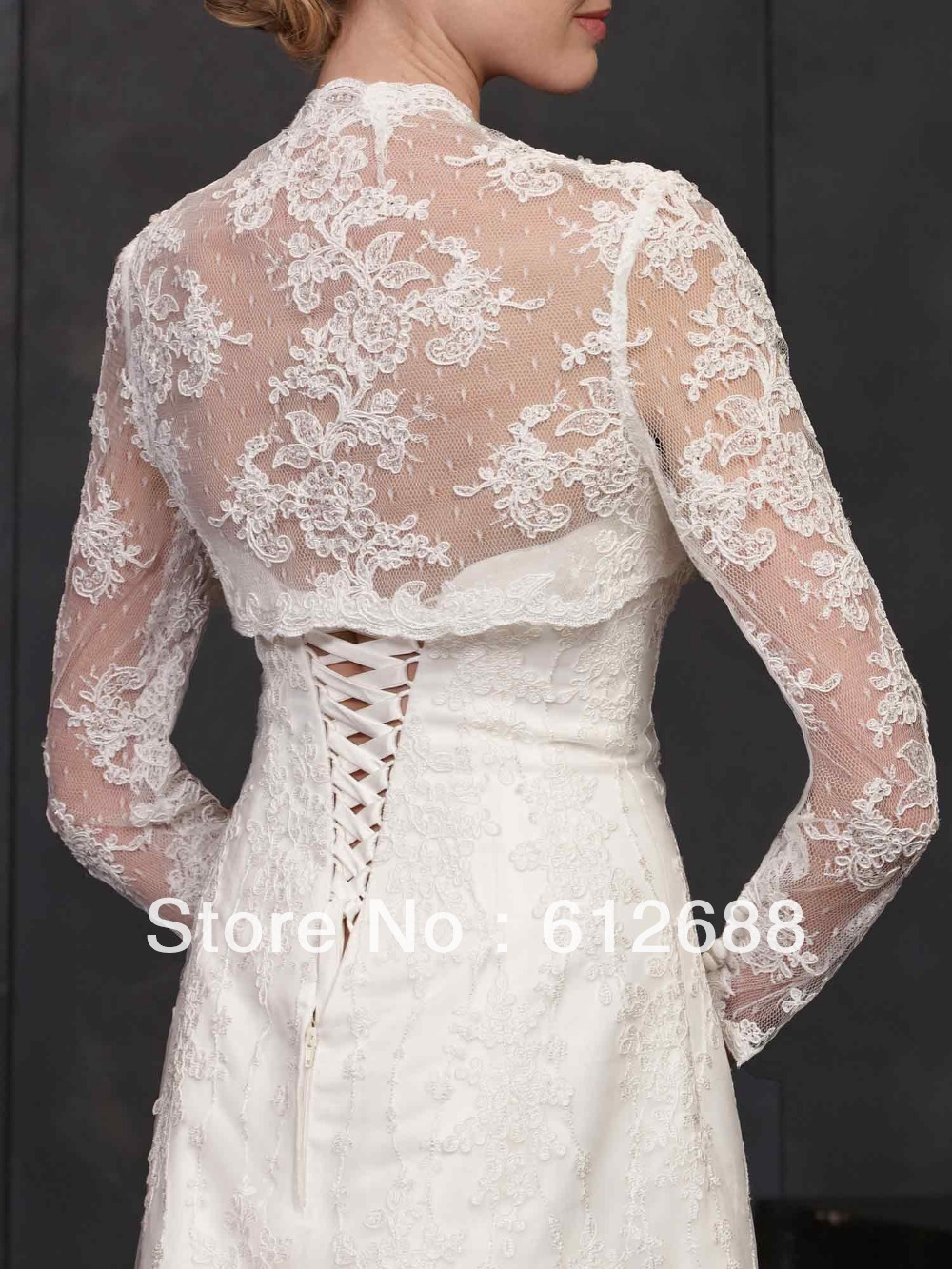 Lace jacket for wedding dress pattern