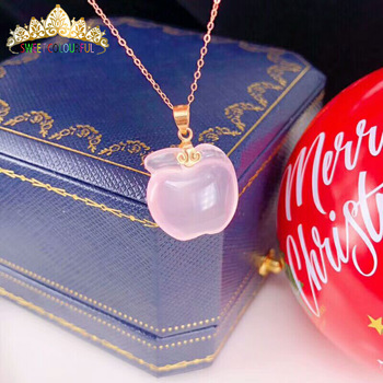 Christmas giftChristmas gift Jewelry Au750 18K Necklac  With national certificate 0012 1