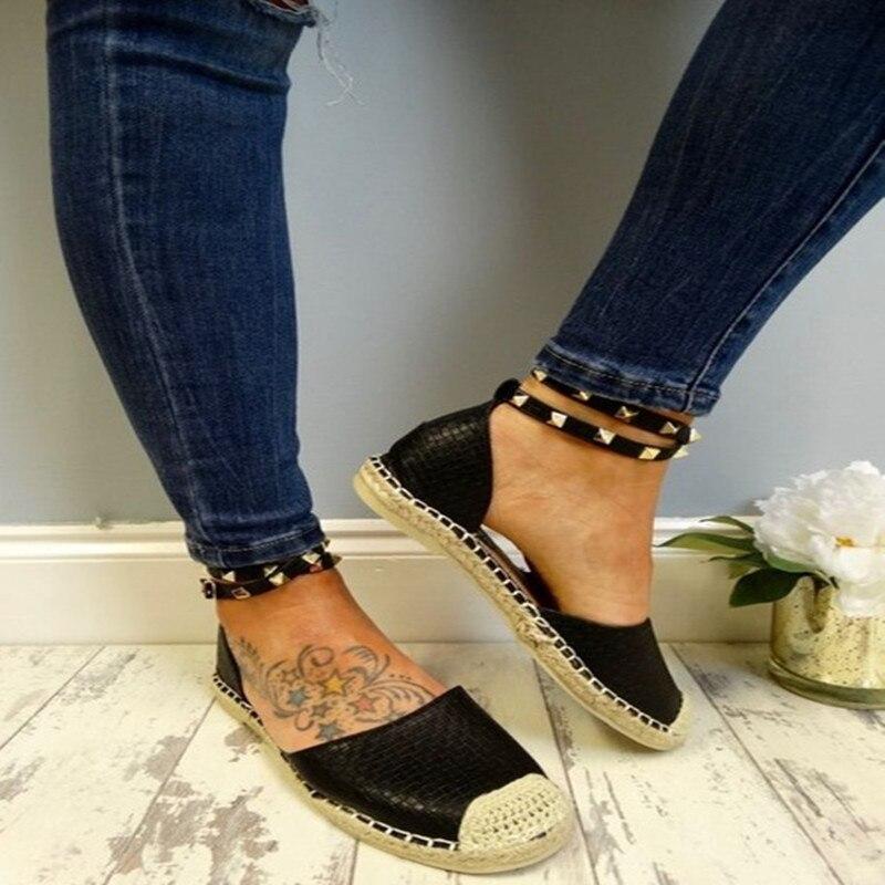 Tissu Noir Mocassins Chaussures De Perlé Glissent 35 Sur Dames Rivers À Main Plates Taille 43 Coton Mode Casual rose Femmes blanc Espadrilles La Toile bleu x1qFa8