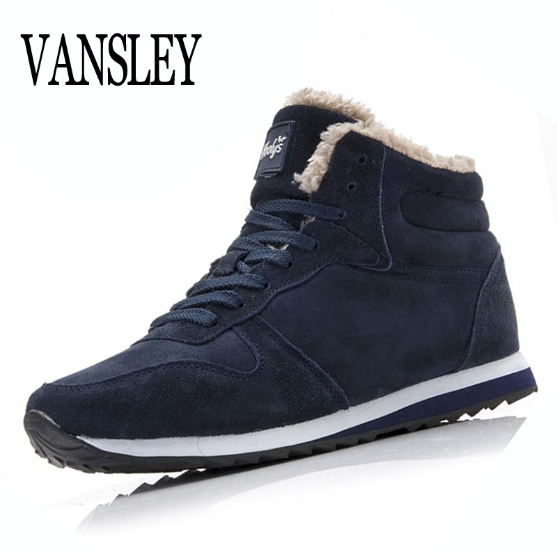цена на New Couple Unisex Super Warm Man Boot Fashion Men Loves Winter Snow Boots Keep Warm Boots Plush Ankle Work Men Boots Big Size