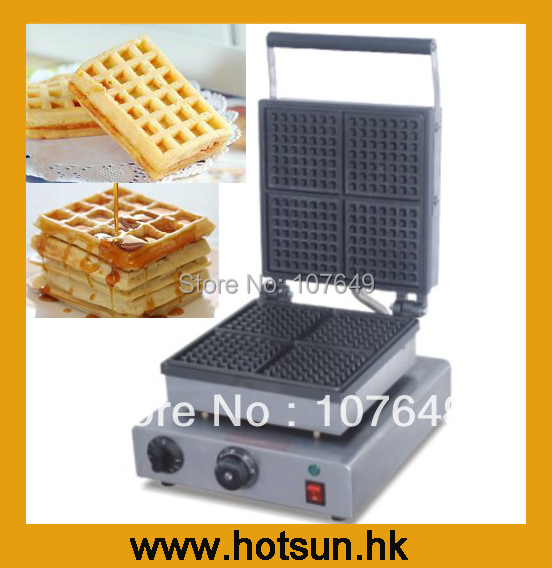 110V 220V Electric Belgian Liege Waffle Maker Baker Iron Machine 110v 220v electric belgian liege waffle baker maker machine iron page 2