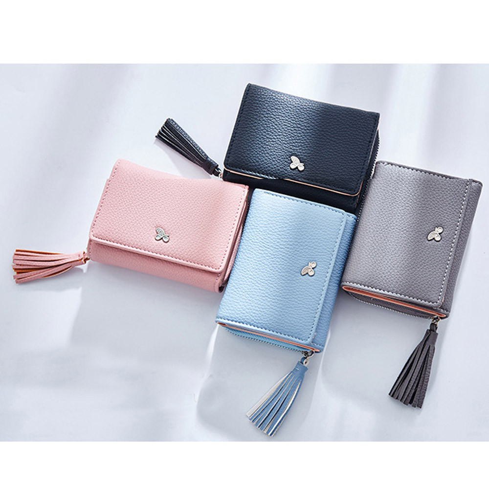 Xiniu Tassels Zipper Women Wallet Coin Card Cash Invoice Fashion Lady Small Purse ...