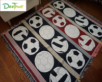 Cotton Thicken Europe Football Sports Soft Cartoon Blanket Fashion Throw On Sofa Bed Blanket Table Plane